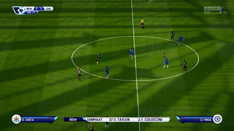 Патч для FIFA 15 значительно улучшает графику в игре. Улучшено цвет газона
