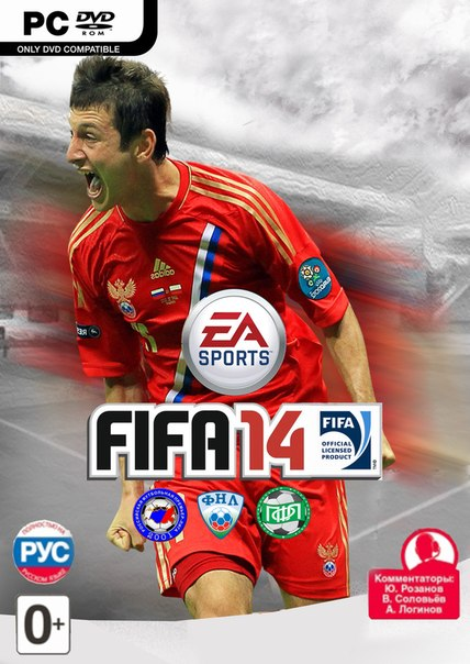 FNL-FIFA 3.0 (MOD Russia and United Europe) - 22 клуба второго дивизиона че